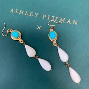Turquoise Ashley pittman earrings